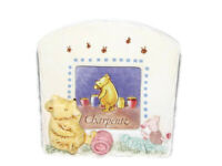 Charpente Classic Winnie The Pooh Piglet Ceramic Baby Photo Frame Nursery Decor