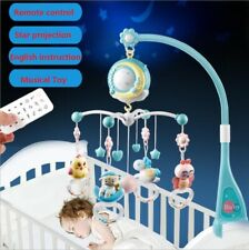 Baby Musical Crib Mobile Rattle w/ Timing Function Projector Lights 150 Melodies