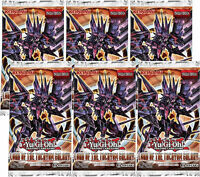 6 x Booster Packs Lord of the Tachyon Galaxy Yugioh Card Sealed English LTGY