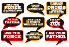 DIY DIGITAL Star Wars VII Signs inspired photo booth props NO PHYSICAL ITEM