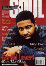 Gerald Levert Lala Hathaway Jodeci Kevin Toney Everette Harp M Oldland Magazine