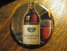Redwood Creek Wine California USA Winery Advertisement Pocket Lipstick Mirror