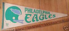 Philadelphia Eagles Vintage 1970's Football pennant full sized CLASSIC~ felt