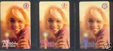Marilyn Monroe - phonecard - GEM set 5 - 70th Birthday