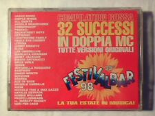 2MC Festivalbar 98 rossa VASCO ROSSI LITFIBA MATIA BAZAR ELISA SIGILLATE SEALED
