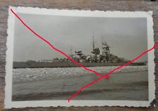 original  Foto Kriegsschiff  Schlachtschiff  Marine Kriegsmarine