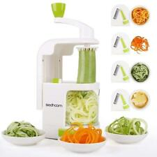 Vegetable Spiral Slicer Veggie Cutter Machine with 4 Blades