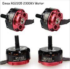 4Pcs Emax RS2205 2300KV Brushless Motor for Mini Quadcopter QAV250 2X CW&2X CCW