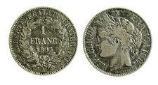 pcc1860_1) Francia 1 Franco 1895 A - TONED