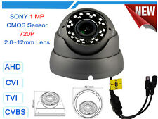 AHD ANALOG CVI TVI 720P 960H 1 MP VARIFOCAL OSD WDR CCTV DOME SECURITY CAMERA