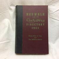Vintage 1964 Norwalk Ohio Con Survey Directory Book