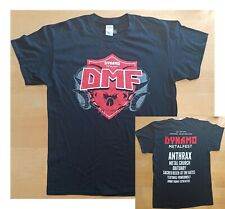T-Shirt DYNAMO METALFEST : Anthrax, Metal Church, Obituary, At The Gates (L)