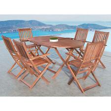 Gartenmöbel Holzmöbel Sitzgruppe Gartenset Akazie Holz Essgruppe Sitzgarnitur