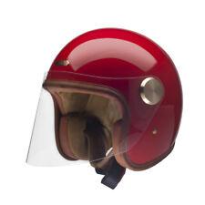 Hedon epicurist Abierta Cara Casco De Moto-Rouge