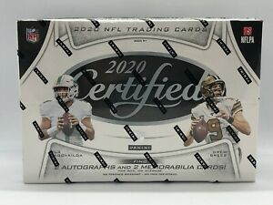 2020 Certified Football NFL Factory Sealed Hobby Box - FREE SHIP TO US