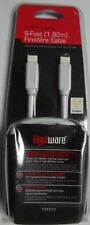 Gigaware 6 Ft (1.82M) 9-Pin to 9-Pin FireWire Cable 1500010  -10