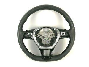 Volkswagen Passat B8 Multifunction Leather Steering Wheel W/ Shifters 5G0419091