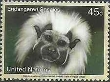 Timbre Animaux Primates Singes Nations Unies New York 1280 ** année 2012 (35403)