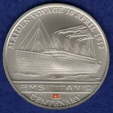 Cook Islands, 2012 Dollar, Titanic Centenary, Maiden Voyage (Ref. t2141)