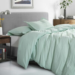 Sweet Home Collection Washed Crinkled Duvet Cover