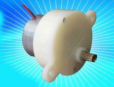 3pc Dc 3v 12v 18rpm Slow Speed Mini Worm Electric Gear Box Motor Speed Reduction