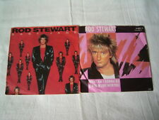 "2 x 7"" - Rod Stewart / Baby Jane & What am i gonna do - diff. # 2389"