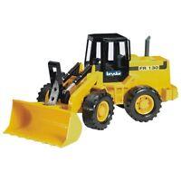 Bruder Gelenkradlader Fiat FR130 Baufahrzeug gelb Kinderspielzeug, Baustelle