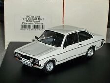 FORD ESCORT MK2 1600 SPORT  DIAMOND WHITE LHD TROFEU 1003W 1:43