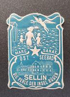 Vignette MARE SANAT. OST - SEEBAD SELLIN DIE PERLE DER INSEL RÜGEN (8115-1)
