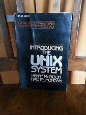 Introducing the UNIX SYSTEM - Morgan  - 1983