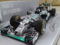 #6 Mercedes AMG Petronas W05 Nico Rosberg Abu Dhabi GP 2014 F1 1/43 Minichamps