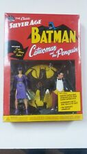 DC Direct Classic Silver Age Batman - Catwoman & Penguin Figurines - New & Boxed