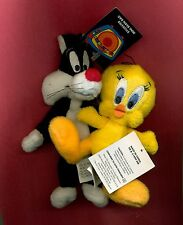 Tweety Sylvester mini bean bag set Looney Tunes Warner Stores new with tags