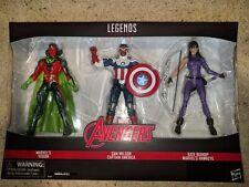 Marvel Legends Avengers 3 Pack Kate Bishop Vision Sam Captain America Japan Impo