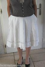 jolie jupe brodeé blanche + jupon RALPH LAUREN T 44 (10) SATISFAIT/REMBOURSÉ
