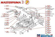 Ricambi per Masterpiuma 3 Montolit - tagliapiastrelle pezzi e optional originali