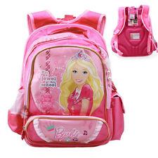 2018 Barbie Lovely Cute School Bag for Grades 1-3 Kids Children Girls Backpack