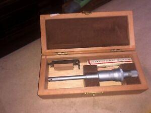 """PIERRE ROCH ROLLE Etalon .275 to .325"""" Inside .0001"""" Micrometer"""