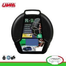 Catene da neve 9mm Lampa R9 Omologate Gruppo 3 per pneumatici 155/65r14 - 16063