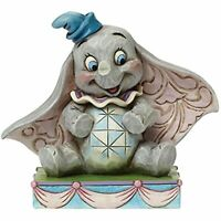Jim Shore Disney Traditions Dumbo Personality Pose Stone Resin Figurine, 3.25""
