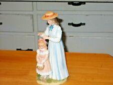 Vintage Homco Porcelain Mother And Daughter Figurine #1478