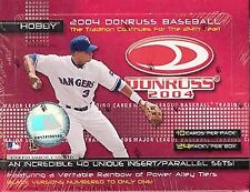 2004 Donruss Baseball Complete Your Set Pick 25 Cards From List