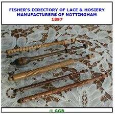 FISHERS DIRECTORY OF NOTTINGHAM LACE & HOSIERY MFRS 1897 CD ROM