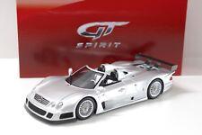 1:18 GT Spirit Mercedes CLK GTR Roadster silver new chez Premium-modelcars