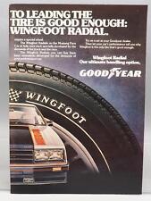 Vintage Magazine Ad Print Design Advertising Goodyear Tires