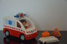 LEGO® DUPLO - 4979 - Krankenwagen Rettungswagen Sirene - Licht & Sound - Notarzt
