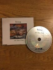 Sting The Police Euro Jewel Case Cd Single 1991 All This Time Live Concert show