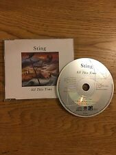 Sting The Police European Jewel Case Cd Single 1991 All This Time & Live Concert