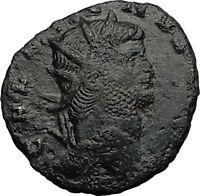 Gallienus Valerian I son 260AD Authentic Ancient  Roman Coin Liberty i58978