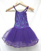 e2289e030a9a0f Fairy Dreams Stella purple sequined Tutu dress Costume NEW NWT Size Sz Lg L  6